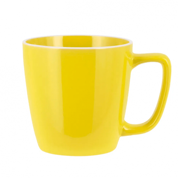 taza amarillo