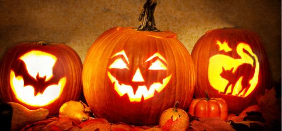 calabazas pintadas halloween