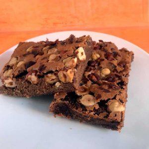 Brownie Avellanas
